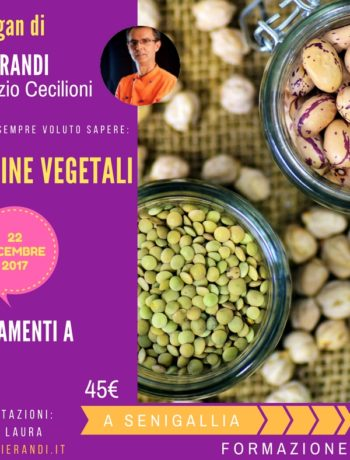 corso vegan: le proteine vegetali